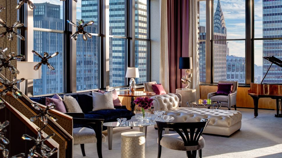 Jewel Suite  в  Lotte New York Palace