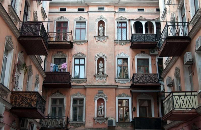 Старые дворики в Одессе