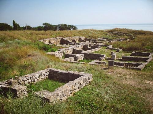 Раскопки на месте древнегреческого полиса Ольвия, Николаевская облась