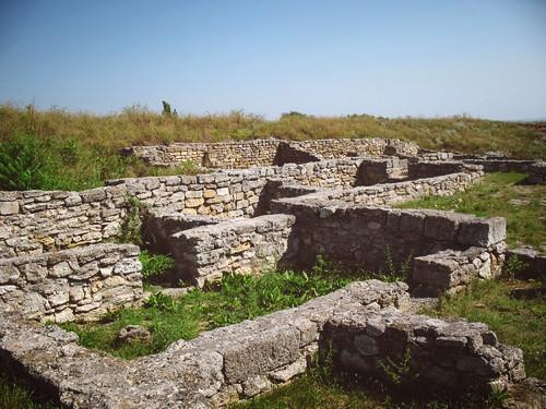 Раскопки в Ольвии
