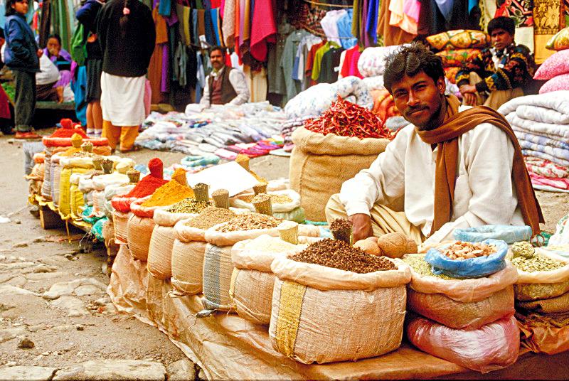 Продавец специй, Индия