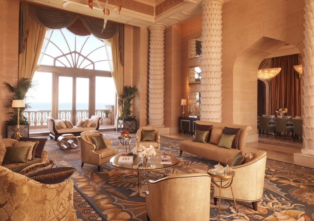Royal Bridge Suite в Atlantis The Palm