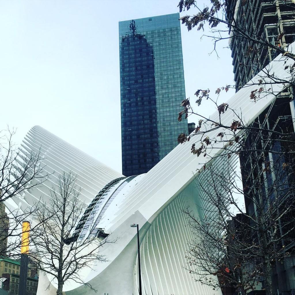 Новый вокзал Oculus в Нью-Йорке
