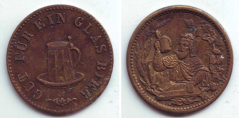 Монеты Biermarke