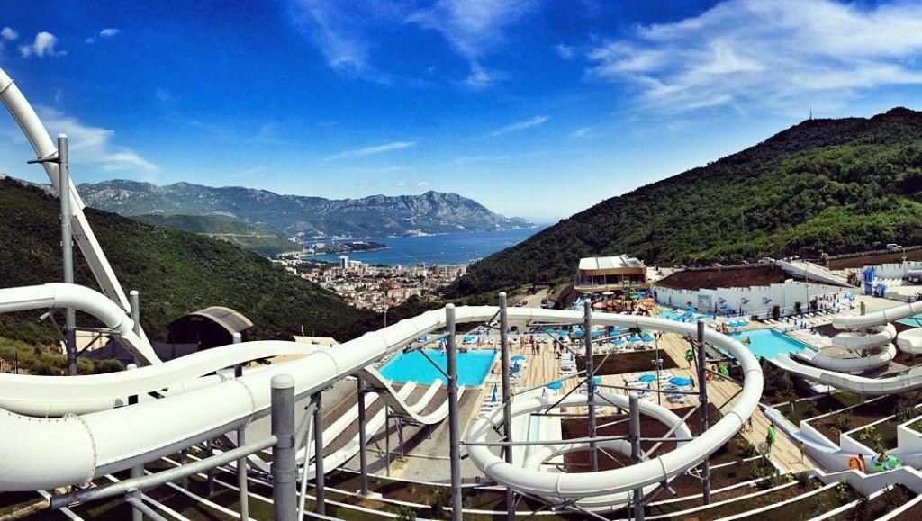 Новый аквапарк Будва в Черногории