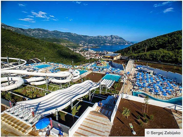 Аквапарк Будва в Черногории