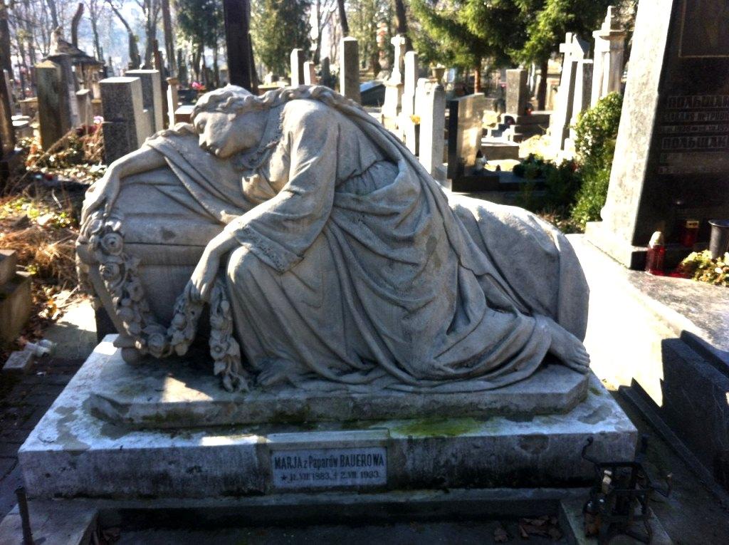 Надгробия на Лычаковском кладбище