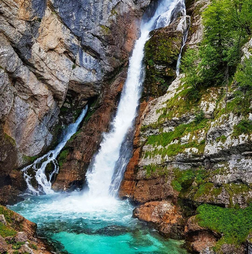 Водопад Савица Словения