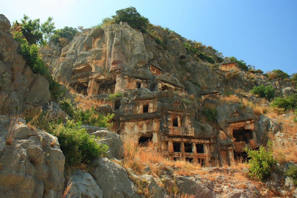 Храм Святого Николая Чудотворца в нижних Мирах, Турция