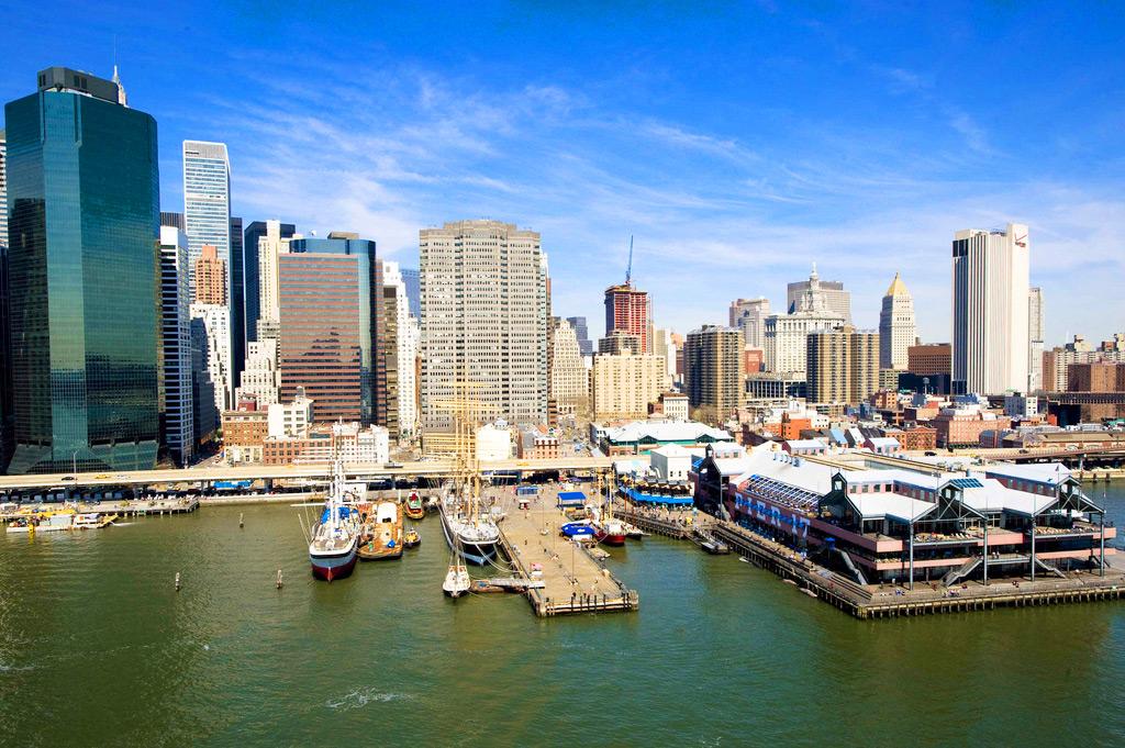 Морской порт Нью-Йорка