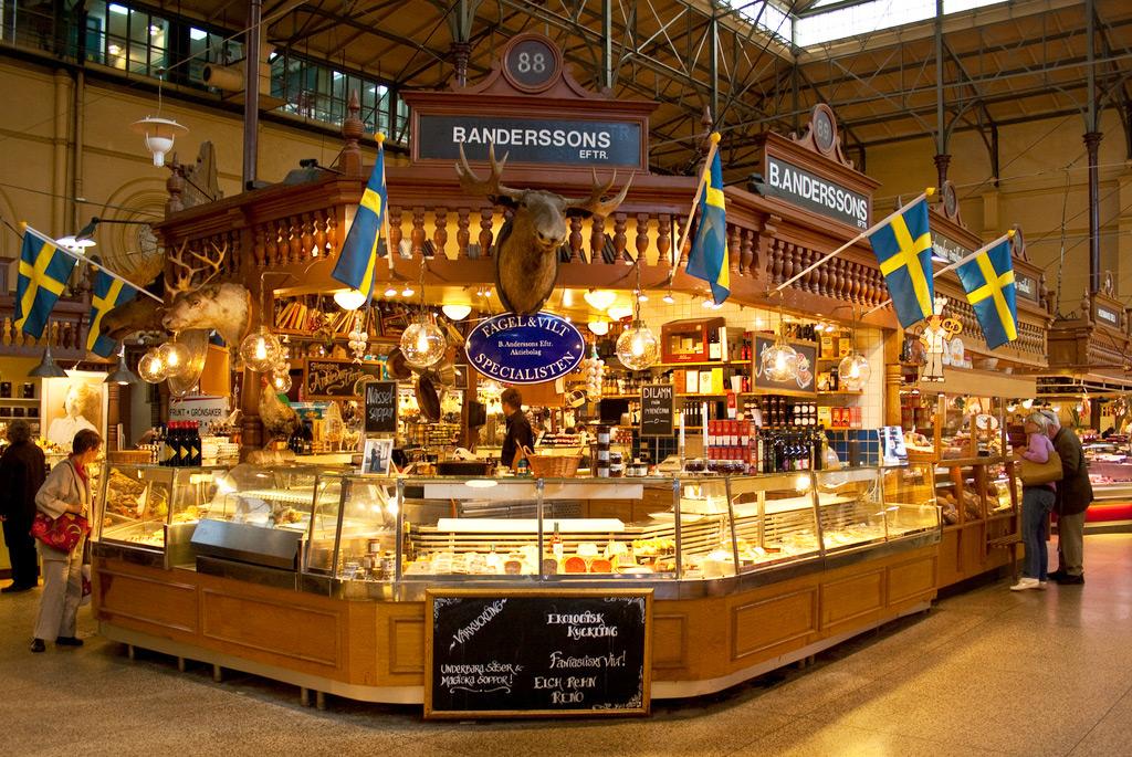 Рынок в Эстермальме, Стокгольм