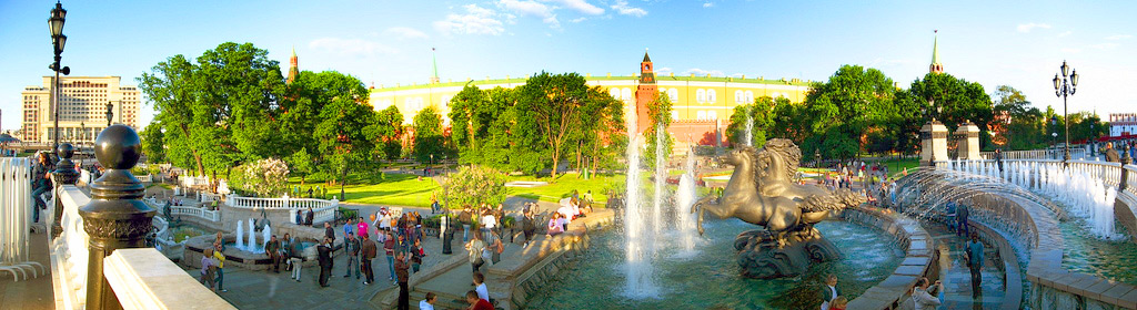 Александровский сад, Москва