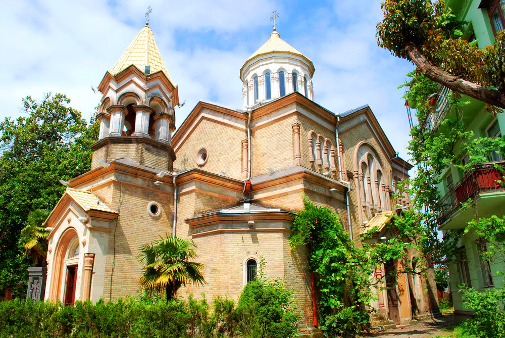 Армянская церковь Святого Христа Всеспасителя, Батуми