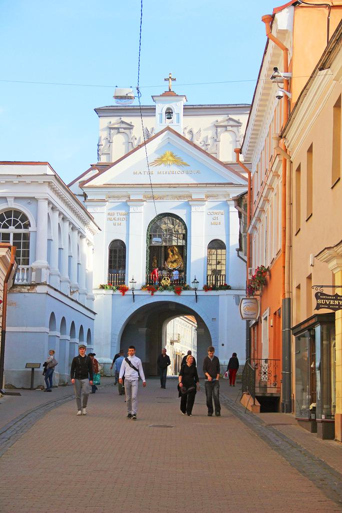 Аушрос Вартай - Ворота Зари в Вильнюсе