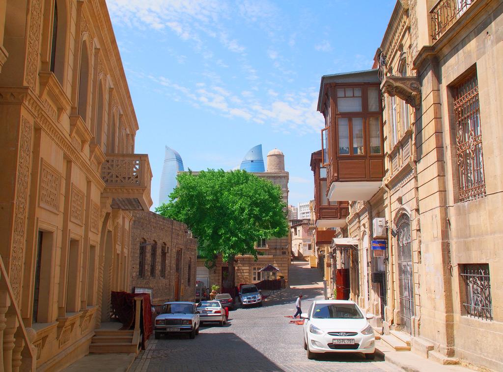 Улицы Баку