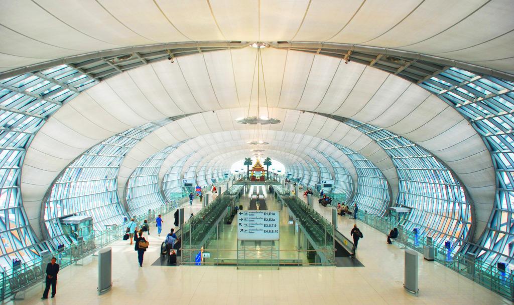Поездка в Бангкок - приезд в аэропорт