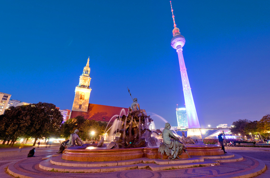 Берлин, Alexanderplatz