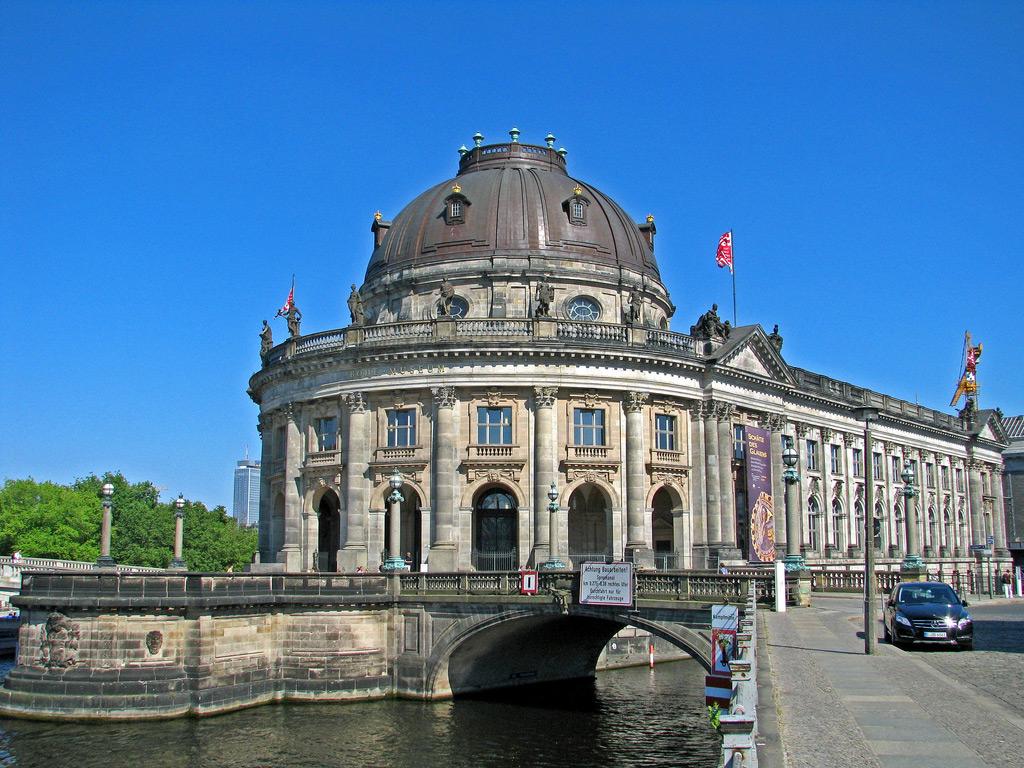 Один из музеев на Музейном острове в Берлине