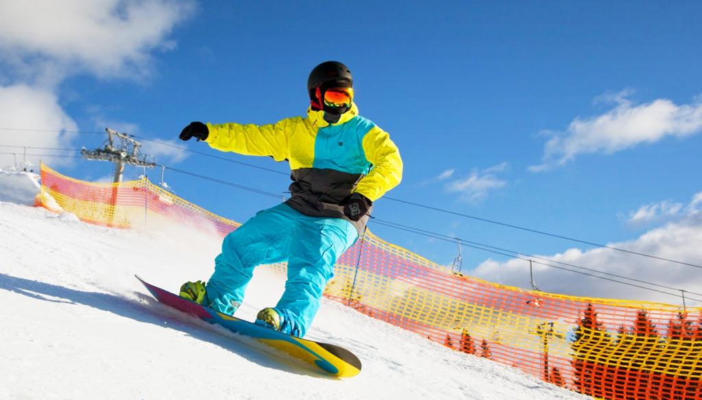 Катание на лыжах в Буковеле