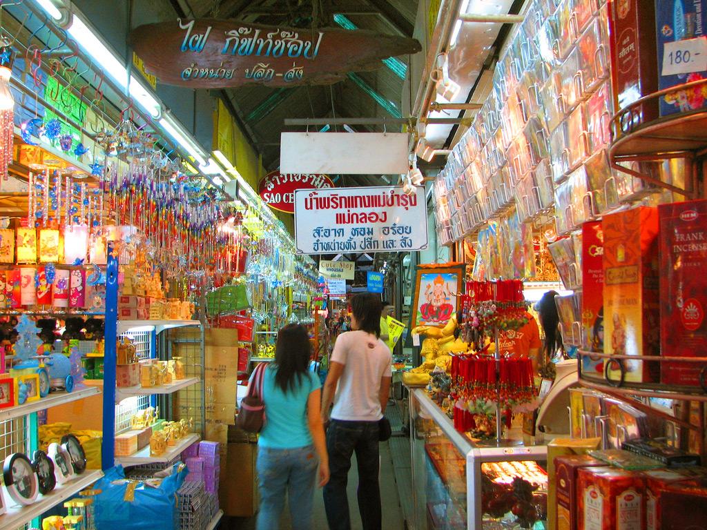 Чатучак - рынок выходного дня в Бангкоке