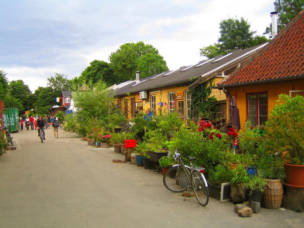 Christiania, Christianshavn, Copenhagen