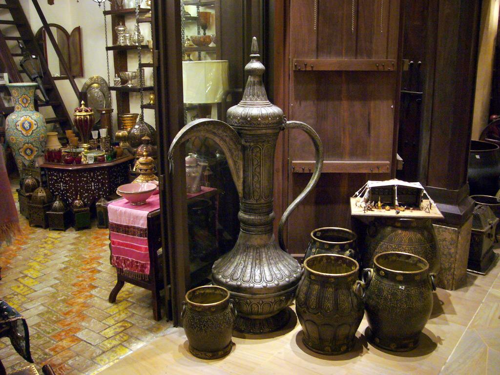 Сувенирный магазин в Дубае