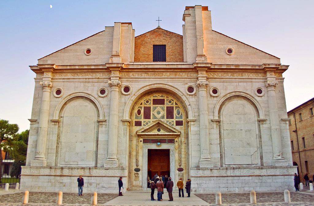 Темпио Малатестиано - кафедральный собор Римини