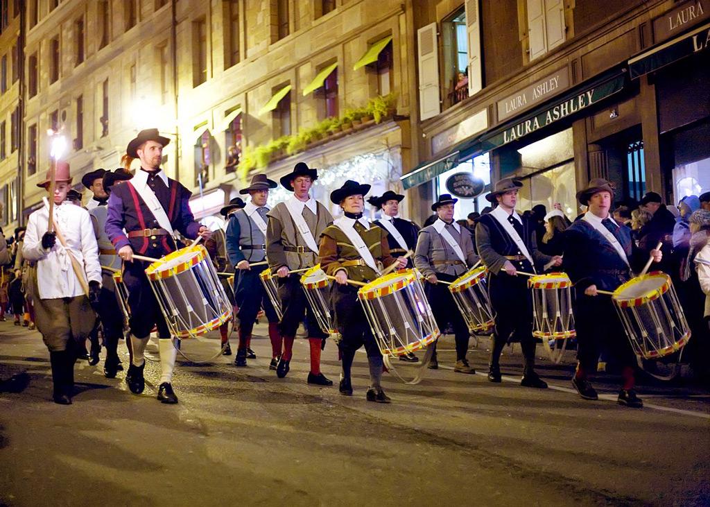 Фестиваль Фете-де-Эскаладе в Женеве