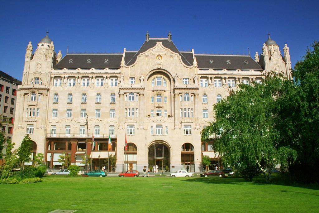 Four Season Hotel in Budapest