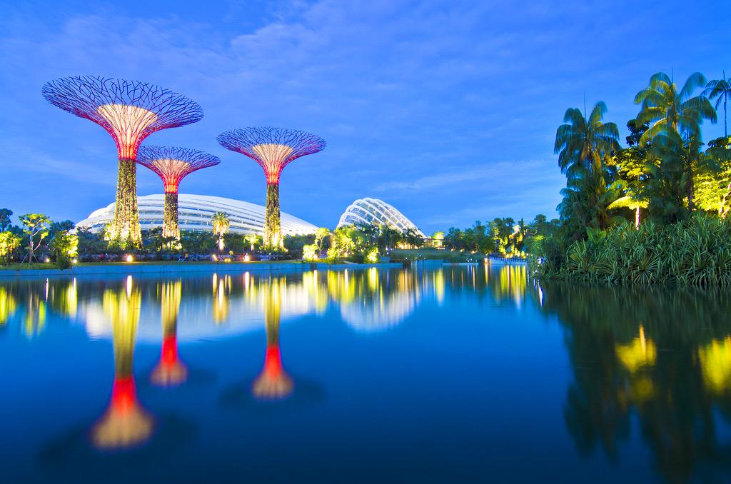 Парк Сады у Залива, Сингапур