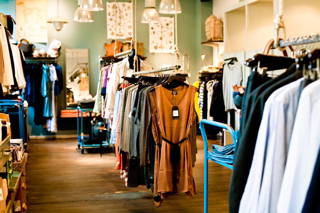 Винтажный магазин Grandpa в Стокгольме