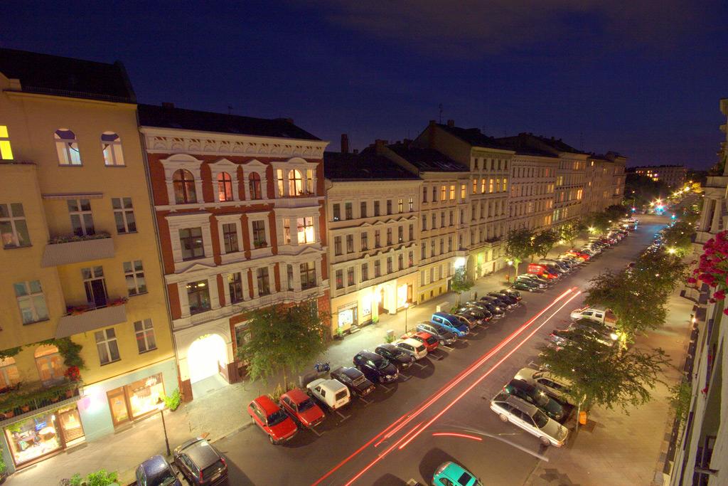 улица Hagelberger в Берлине