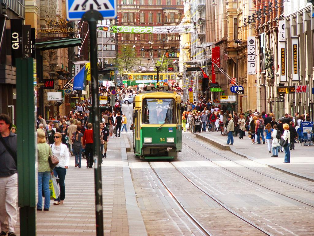 Городской трамвай Хельсинки № 3
