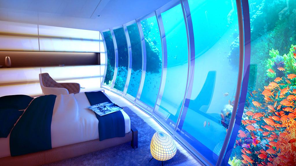 Отель под водой в Дубае - Hydropolis Underwater Hotel