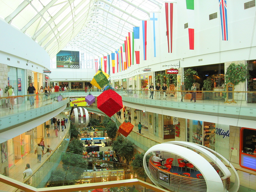 Europa shopping mall в Вильнюсе
