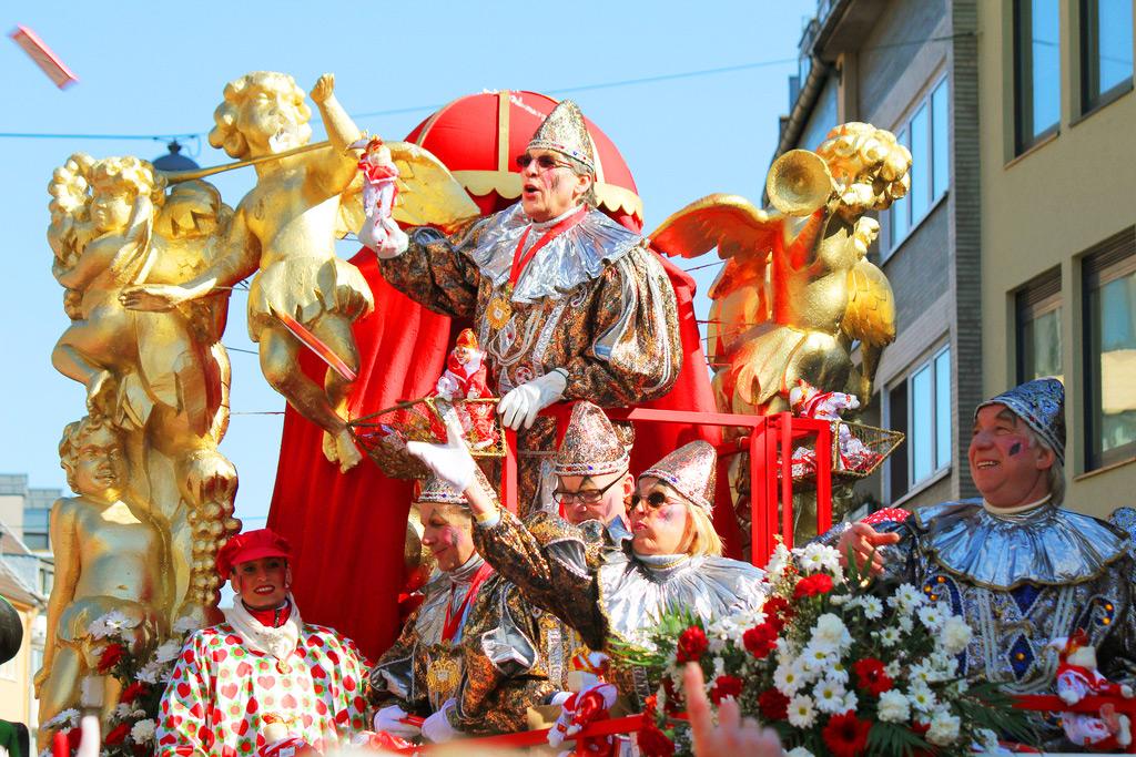 Парад в Rosenmontag