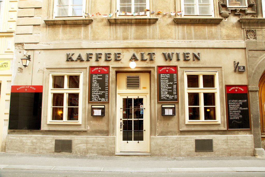 Венская кофейня Kaffee Alt Wien