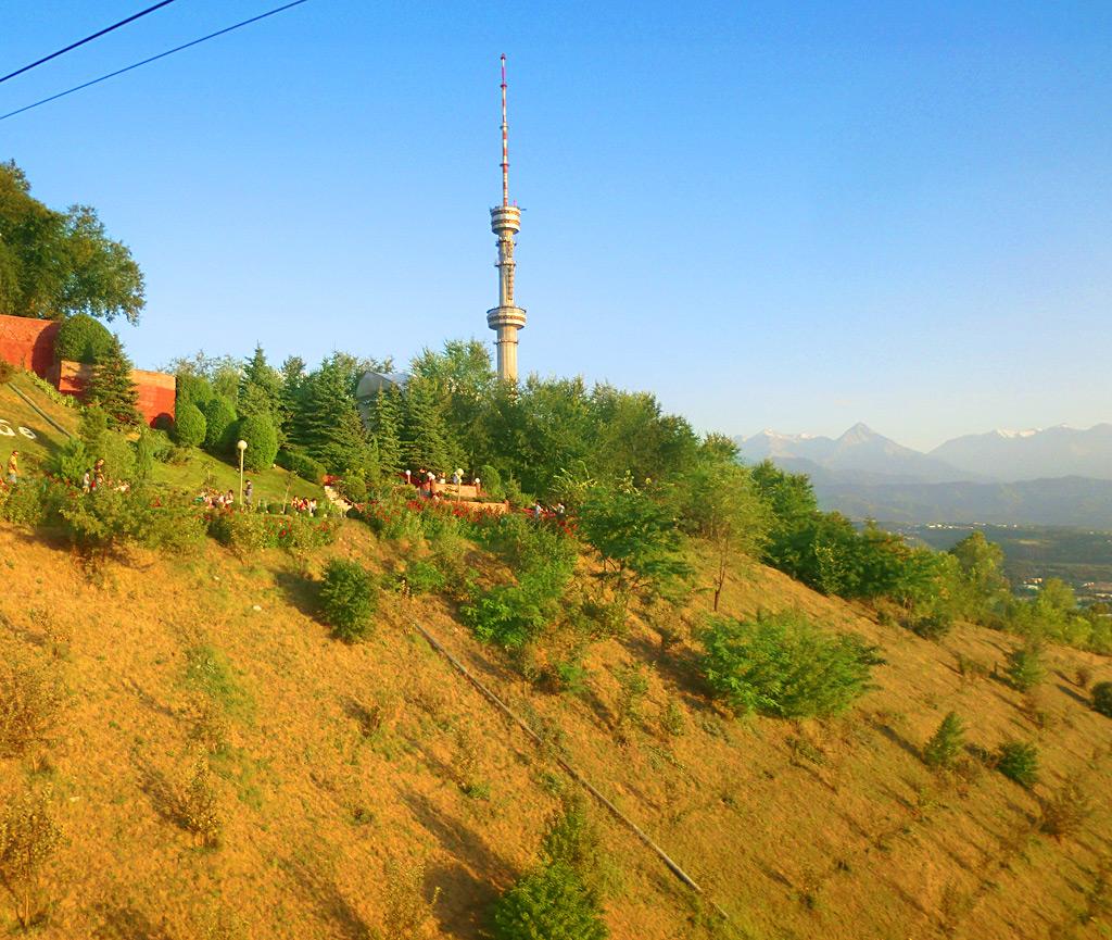 Гора Кок-Тюбе в Алматы