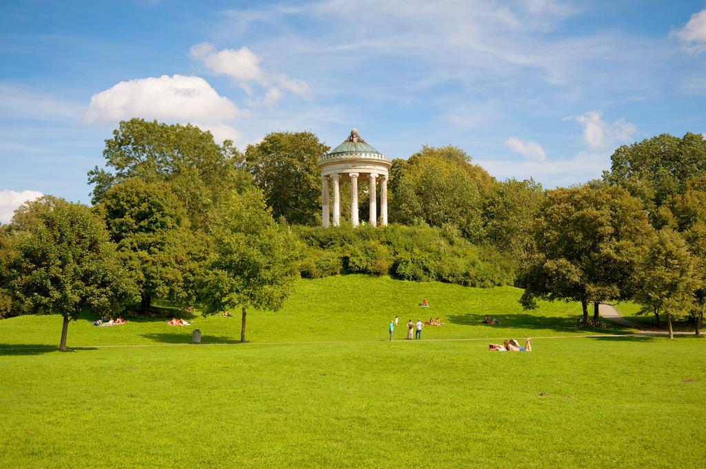 Мюнхенский английский парк