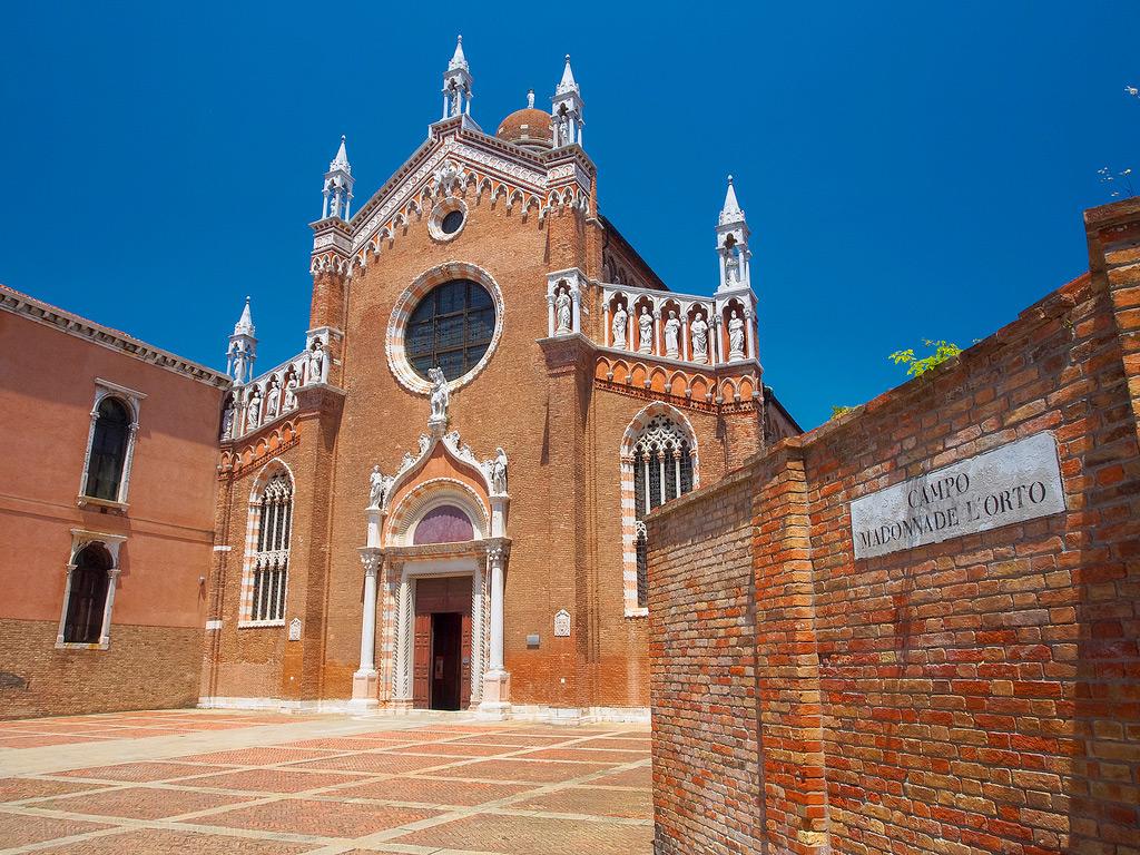 Церковь Madonna dell'Orto в Венеции