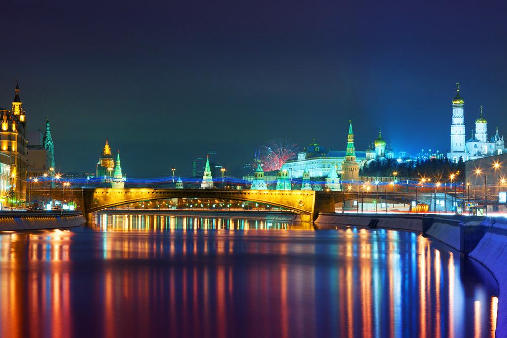 Ночная экскурсия по Москве на теплоходе