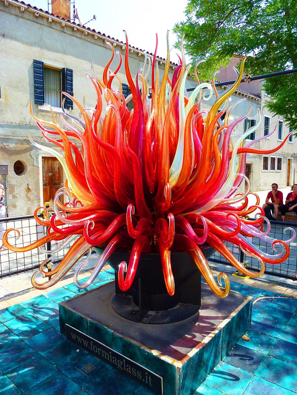 Скульптура Murano Glass в Венеции