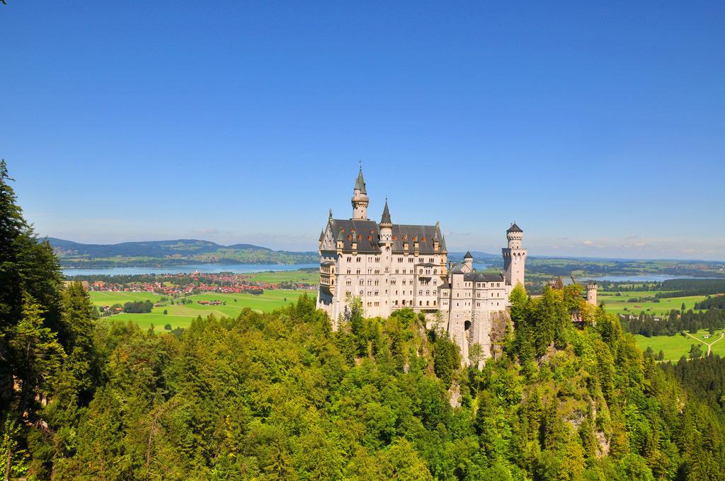 Замок Нойшванштайн, Мюнхен