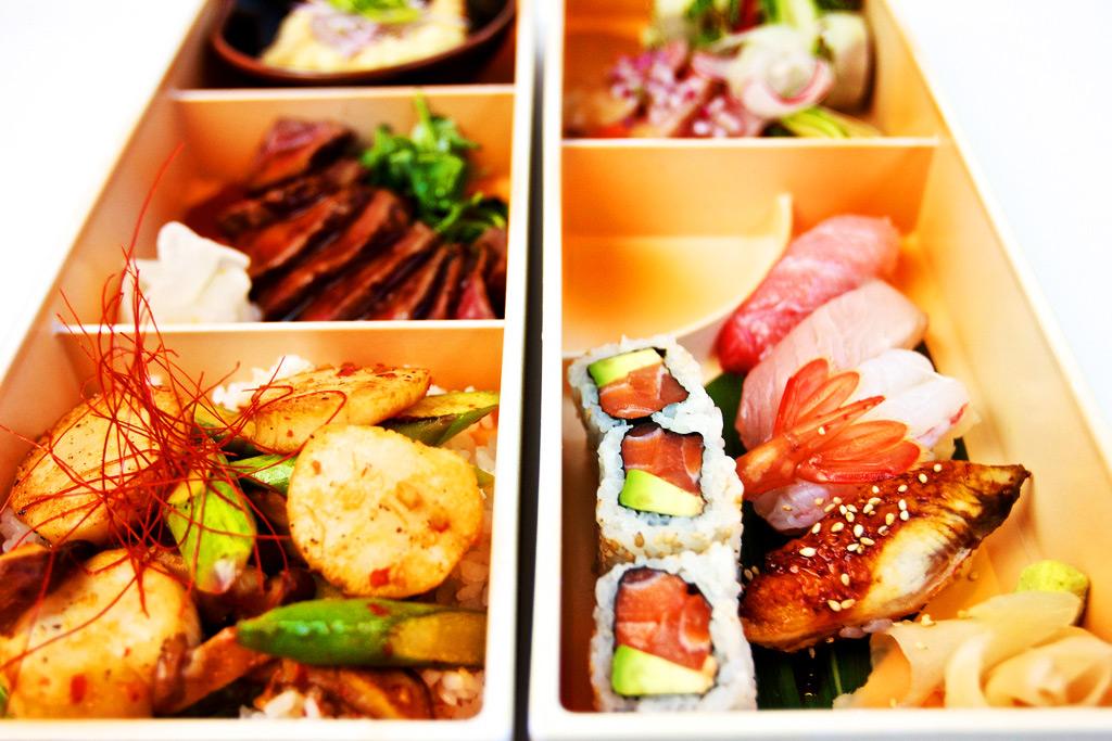 Блюдо из меню ресторана Nobu, Лондон