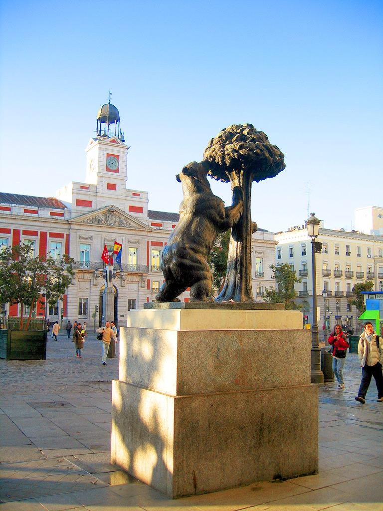 Площадь Пуэрта-дель-Соль - центральная площадь города