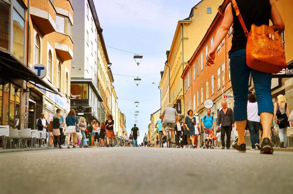 Район Седермальме в Стокгольме