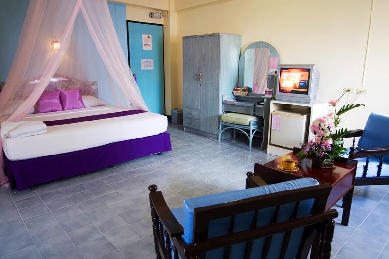 Sawasdee Pattaya Hotel, deluxe double