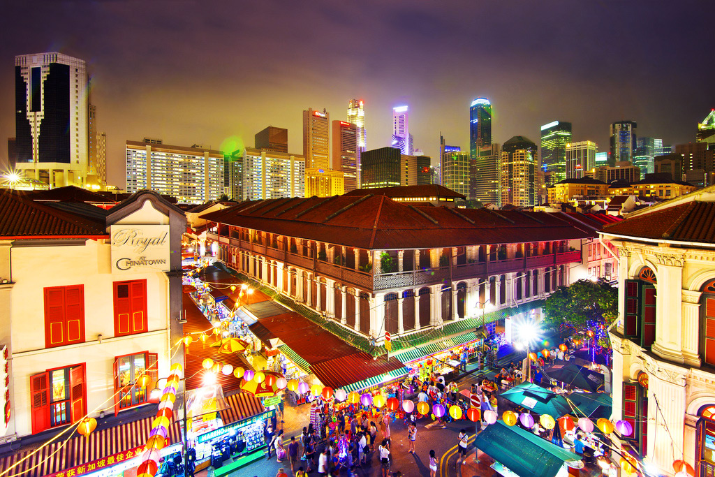 Чайнатаун в Сингапуре