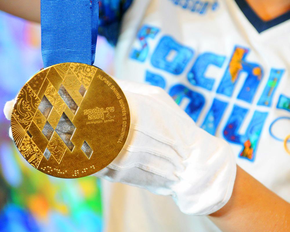 Sochiy olympic medal