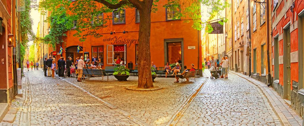 Гамла стан - исторический центр Стокгольма